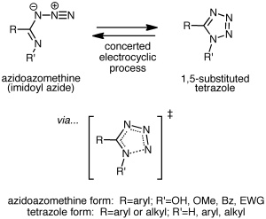 The tetrazole-azidoazomethine equilibrium