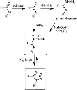 Routes to azidoazomethines