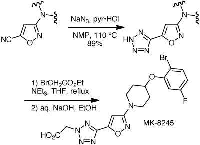 Merck Frosst Discovery Chemistry Route
