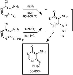 McKee and Montgomery fused tetrazole synthesis