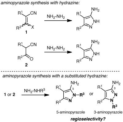 Pyrazole introduction